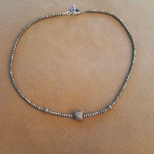 Diamond Chip Necklace